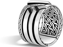 Classic Chain Band Ring, Size 9-11