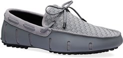 Woven Mesh & Rubber Braided-Lace Boat Drivers