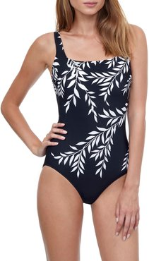 Portofino Square-Neck One-Piece Swimsuit