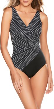 No Static (At All) Colorblock Oceanus One-Piece Swimsuit