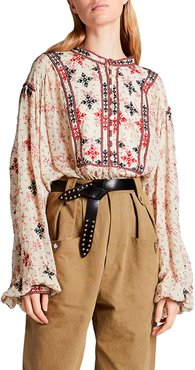 Ivayo Embroidered Blouse