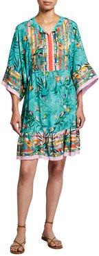 Plus Size Taina Short Coverup Dress