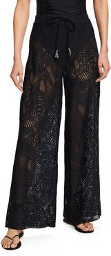 Cape Cod Coverup Lace Pants