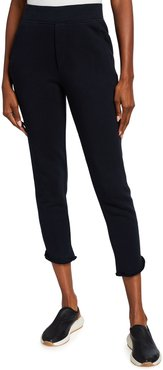 Tulip Ankle Cropped Sweatpants