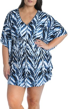 Plus Size Animal Instinct Short Caftan