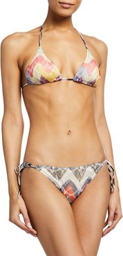 Multi-Pattern Two-Piece Bikini Set