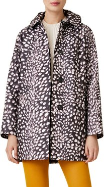 Pony Print Swing Car Coat