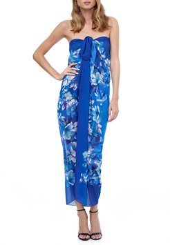 Floral Coverup Pareo
