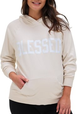 Blessed Organic Cotton Maternity Hoodie