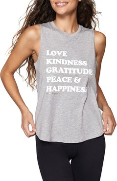 Happiness Muscle Tank Top