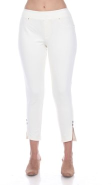 All the Rage Cropped Pants, White