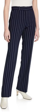 Pinstripe City Pants