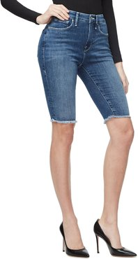 High-Rise Power Stretch Bermuda Shorts - Inclusive Sizing