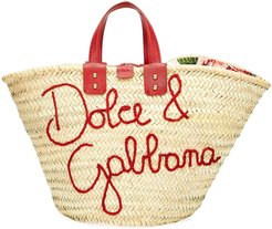 The Kendra Straw Tote Bag