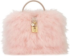 Dolce Box Fluffy Feather Bag
