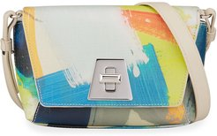Anouk Little Day Multicolored Stroke Crossbody Bag
