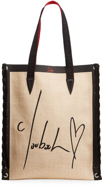 Cabalace Straw All You Need Small Tote Bag