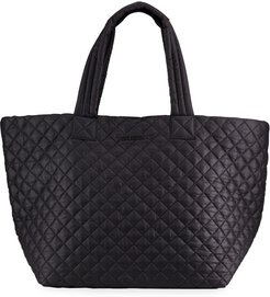 Metro Large Quilted Tote Bag