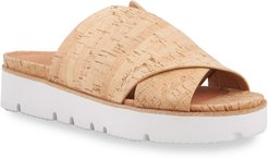 Lavern X-Band Cork Slide Sandals