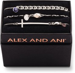 Tall Cross Bracelet Gift Set