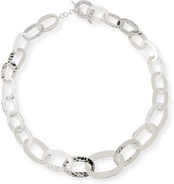 Roma-Link Silver Necklace