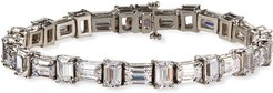 Cubic Zirconia East-West Bracelet