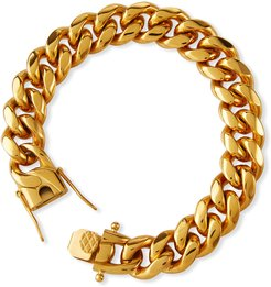 Ruth Curb Chain Bracelet, 12mm