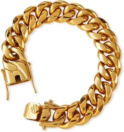 Ruth Curb Chain Bracelet, 16mm