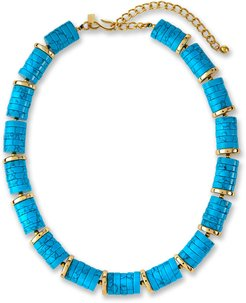 Spacer Disc Bead Necklace