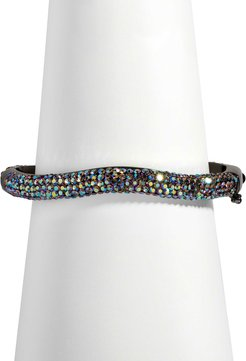 Pave Venus Bangle, Iridescent