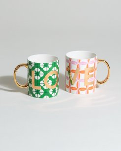 Enlightenment Love Mugs Set of Two