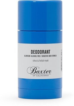 White Baxter Deodorant in Size One Size