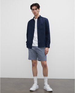 """Blue Baxter 7"""" Chambray Shorts in Size 30"""