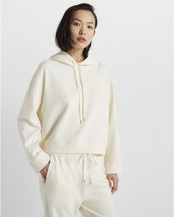 Ivory Ottoman Hoodie in Size S