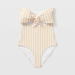 Yellow Mul Onia Marie Swimsuit in Size S