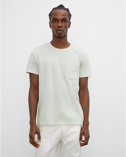 Light Green Williams Garment-Dyed Crew in Size M