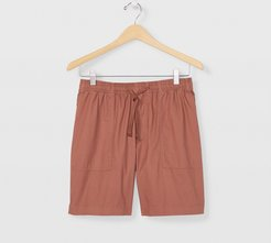 Dusty Red Utility Shorts in Size S