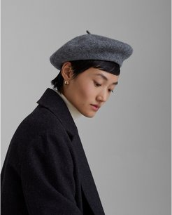 Grey Hat Attack Beret in Size One Size
