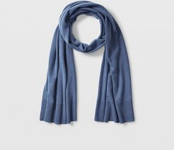 Light Blue Kensington Cashmere Scarf in Size One Size