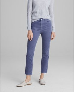 Periwinkle The High Rise Skinny Cord in Size 28
