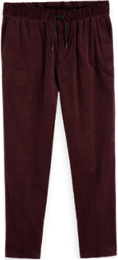 Fave Tapered Fit Cotton Corduroy Trousers