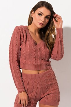 Always Right Cable Knit Sweater