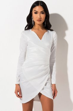 Forever Young Wrap Front Dress