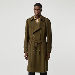 The Westminster Heritage Trench Coat, Size: 48, Green
