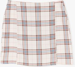 Checkin' in on You Slit Mini Skirt - Pink