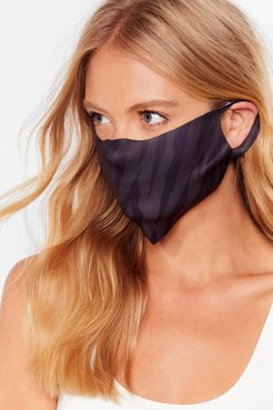 Face First Fashion Face Mask - Black