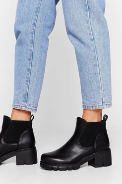Chunky Cleated Chelsea Boot