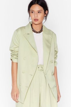 s Back to Business Relaxed Blazer - Mint