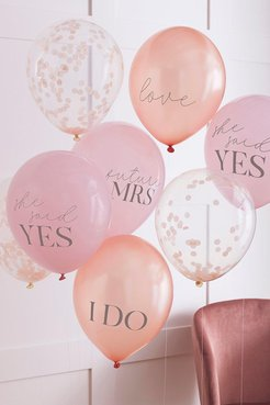 Ginger Ray Slogan Hen Party Balloons - Pink - One Size