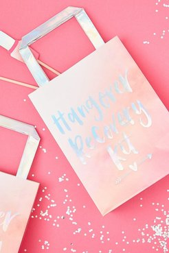 Ginger Ray Hangover Recovery Kit Gift Bags - Pink - One Size